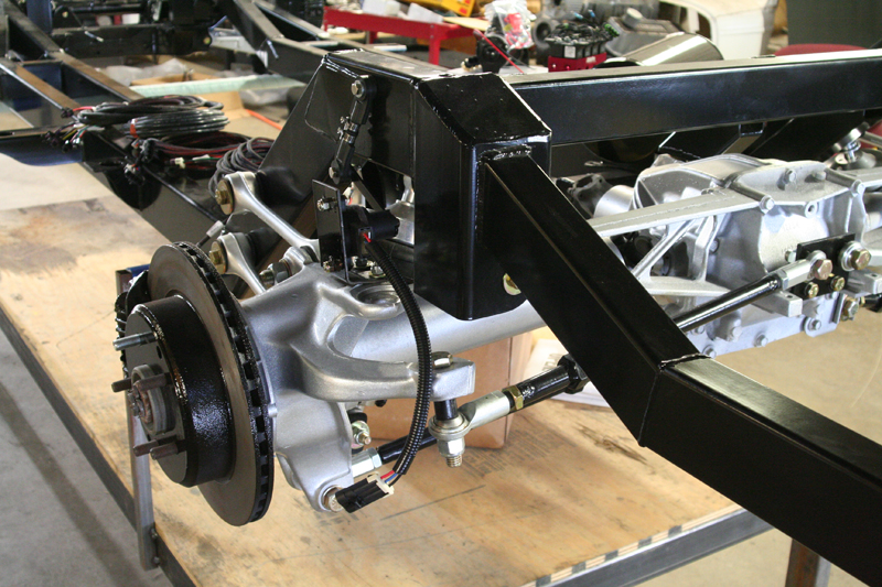 Rolling Chassis C4 Vette Basic Air Ride 55 56 57 Chevy ...
